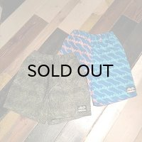 "{NO MAD NUMSKULL} ORIGINAL PATTERN SHORT PANTS / ""CIRCLE LOGO"" / ""EYE"""