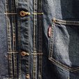 画像3: {WEIRDO} WRD RODS - JACKET(INDIGO VINTAGE FINISH) (3)