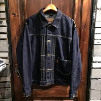 {WEIRDO} WRD RODS - JACKET(INDIGO)