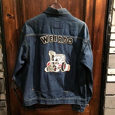 画像2: {WEIRDO} WRD RODS - JACKET(INDIGO VINTAGE FINISH)