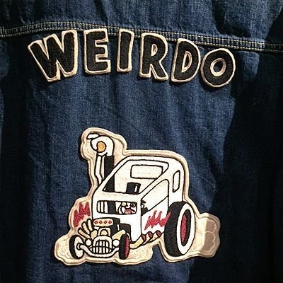 画像5: {WEIRDO} WRD RODS - JACKET(INDIGO VINTAGE FINISH)