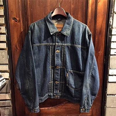 画像1: {WEIRDO} WRD RODS - JACKET(INDIGO VINTAGE FINISH)
