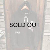 "{PSYCHO WORKS}  ""N.W.O"" hoodie"