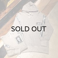 {NO MAD NUMSKULL} ORIGINAL PATCH HOODIE / GRAY