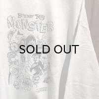 "{SNOID} ""NEPTUNE MONSTER"" Crew neck SWEAT"