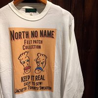 "{NORTH NO NAME} NNN PATCH FRONT COVER ""TWO FACE"" L/S Tee"