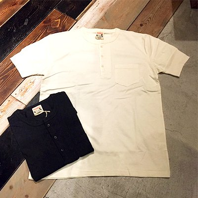 画像1: {GLAD HAND} STANDARD HENRY POCKET T-SHIRTS