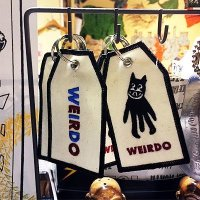 {WEIRDO} TAG KEY FOB