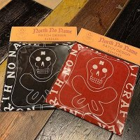 "{NORTH NO NAME} NNN PATCH PATTERN BANDANA ""SKULL"""
