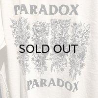 "{PARADOX} ""PARADOX FRAG"" S/S T-SHIRTS (WHITE)"