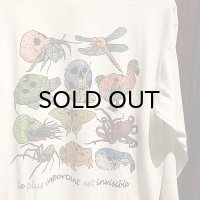"{PARADOX} ""Skull Creatures"" L/S T-SHIRTS / WHITE"