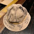 "画像2: {NORTH NO NAME} ""MESSEAGE"" 30's TYPE LINEN HAT (2)"