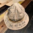 "画像1: {NORTH NO NAME} ""MESSEAGE"" 30's TYPE LINEN HAT (1)"