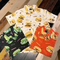 {MAGICAL MOSH MISFITS} MAGICAL BURGER ALOHA SHIRT