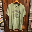 """画像1: {Marijuana tokyo} """"Medical"""" S/S T-SHIRTS (MILITARY GREEN) (1)"""