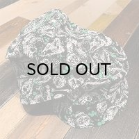 "{PARADOX×NO MAD NUMSKULL} BUCKET HAT ""SKULL"" / GREEN"