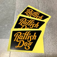 "{RAFFISH DOG} ""signboard"" sticker(3枚set)"