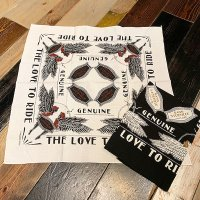 "{GANGSTERVILLE} ""LOVE TO RIDE"" - BANDANA"