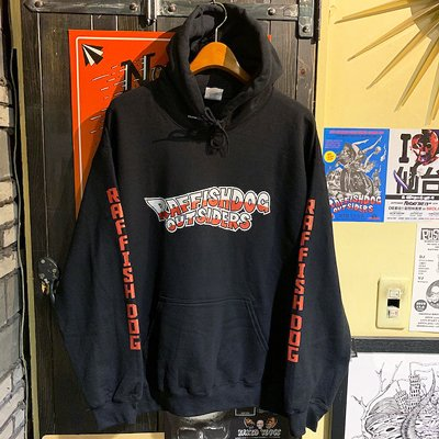 "画像2: {RAFFISH DOG × 植地毅} ""RAFFISH DOG OUTSIDERS"" SWEAT PARKA"