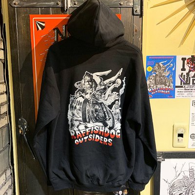 "画像3: {RAFFISH DOG × 植地毅} ""RAFFISH DOG OUTSIDERS"" SWEAT PARKA"