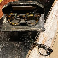 "{GLAD HAND×丹羽 雅彦} J-IMMY - GLASSES ""ORNAMENT"" / SILVER / AMBER"