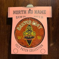 "{NORTH NO NAME} FELT PATCH / M / ""BAXTER BEAT"""
