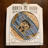 "{NORTH NO NAME} FELT PATCH / XL / ""I am SCREWED"""