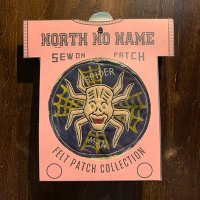 "{NORTH NO NAME} FELT PATCH / M / ""SPIDER MAN"""