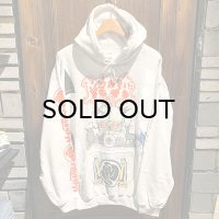 """{MOMENTARY PSYCHO ART} """"刹那"""" SPECIAL MULTI PRINT P/O-PARKA / Lsize"""