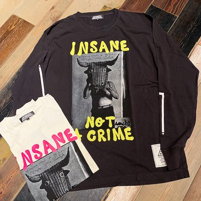 "画像1: {ANARC of hex} ""INSANE"" L/S T-SHIRTS"