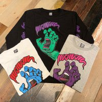 "{MAGICAL MOSH MISFITS × SANTA CRUZ} ""MAGICAL SCREAMING HAND"" LONG TEE"
