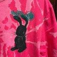 """画像1: {MOMENTARY PSYCHO ART} """"Rabbit"""" BLEACH S/S T-SHIRTS  (1)"""