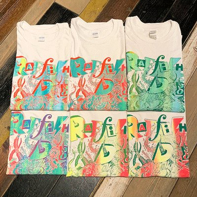 "画像1: {RAFFISH DOG × ZONZAI} ""OCTOPUS"" S/S T-SHIRTS / WHITE"