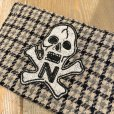 "画像2: {NORTH NO NAME} NNN PATCH PATERN ""SKULL"" POACH / Ssize (2)"