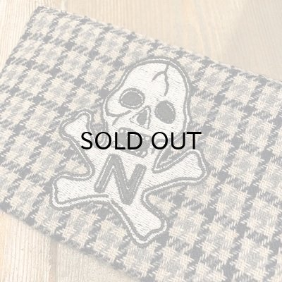 "画像2: {NORTH NO NAME} NNN PATCH PATERN ""SKULL"" POACH / Ssize"