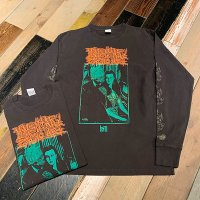 "{MOMENTARY PSYCHO ART} ""...with DEATH"" L/S T-SHIRTS"