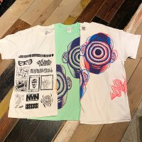{NO MAD NUMSKULL}  MULTI PRINT S/S-Tee (2)
