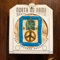 "{NORTH NO NAME} FELT PATCH / L / ""RIP"""