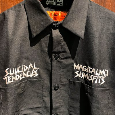 "画像3: {MAGICAL MOSH MISFITS × SUICIDAL TENDENCIES} ""MAGICAL TENDENCIES"" WORK SHIRT"