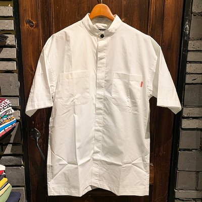 画像1: {ROLLING CRADLE} STAND-UP COLLAR SHIRT