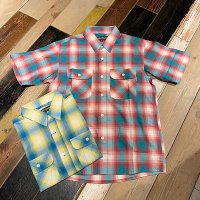 {ROLLING CRADLE} OMBRE CHECK SHIRT