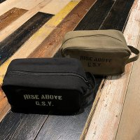 "{GANGSTERVILLE} ""RISE ABOVE"" - TRAVEL KIT BAG"