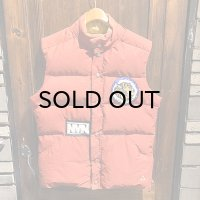 {NO MAD NUMSKULL} used DOWN VEST / RED