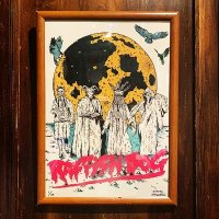 "{HIROTTON × RAFFISH DOG} ""Moon"" A3 POSTER"