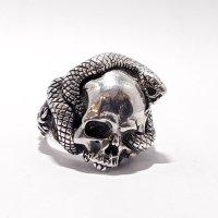 """※受注商品※ {GRYPHON} Skull&Snake RING""""Eternity"""""""