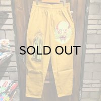"{COOKMAN × NO MAD NUMSKULL} ""MAD MAN"" Chef Pants / (Mustard)"