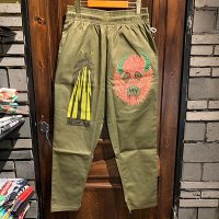 "{COOKMAN × NO MAD NUMSKULL} ""MAD MAN"" Chef Pants / (Khaki)"