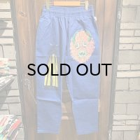 "{COOKMAN × NO MAD NUMSKULL} ""MAD MAN"" Chef Pants / (Deep Blue)"