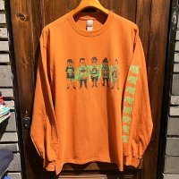 "{RAFFISH DOG} ""Monsters"" L/S T-SHIRTS"