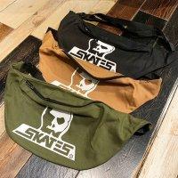 {SKULL SKATES} Canvas Shoulder Bag